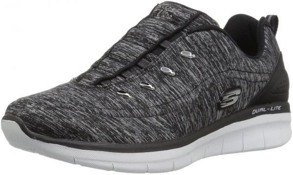 ee222a86fbe4 Skechers Women s Synergy 2.0-Scouted Fashion Sneaker