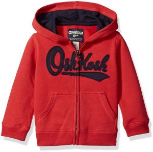 5f4a62c1f24b Osh Kosh Boys  Toddler Full Zip Logo Hoodie