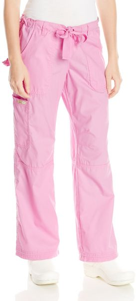 a4c7701de49 KOI Women's Lindsey Ultra Comfortable Cargo Style Scrub Pants (PETITE  SIZES), Pink, 3X-Large/Petite. by KOI, Uniform - Be the first to rate this  product
