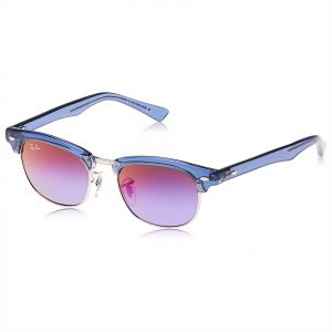 ca97eef49af Ray-Ban Half Frame Sunglasses For Kids - Purple