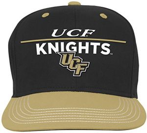 1811caade0fc9 NCAA Central Florida Golden Knights Youth Boys Retro Bar Script Flatbrim  Snapback Hat