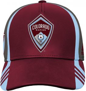 purchase cheap 8b129 611bd Outerstuff MLS Colorado Rapids Boys Structured Adjustable Hat, Burgundy,  One Size (8)