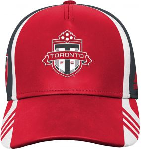 los angeles 0e6a1 59766 Outerstuff MLS Toronto FC Boys Structured Adjustable Hat, Red, One Size (8)