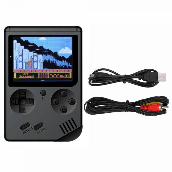 Retro Handheld Game Console Emulator Built-in 168 Games Video Games Handheld Game Player for FC Best Gift For Kids