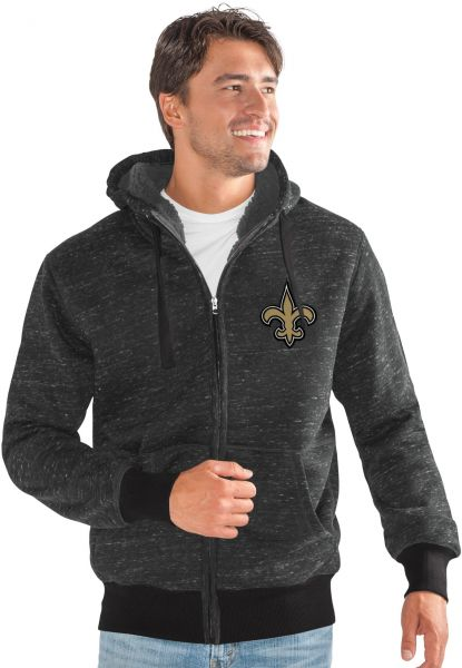 purchase cheap a852a 0a2bc G-III Sports NFL New Orleans Saints Discovery Transitional Jacket, Small,  Black