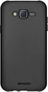 59b7c302364 AMZER Pudding Slim Protective Shockproof TPU Soft Gel Case Thin Protective Cover  for Samsung Galaxy J7 SM-J700F (2015) - Black