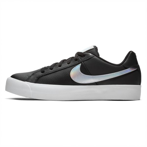 quite nice a2f6c a83d5 Nike Court Royale Ac Sports Sneakers for Women - Black White   Souq - UAE