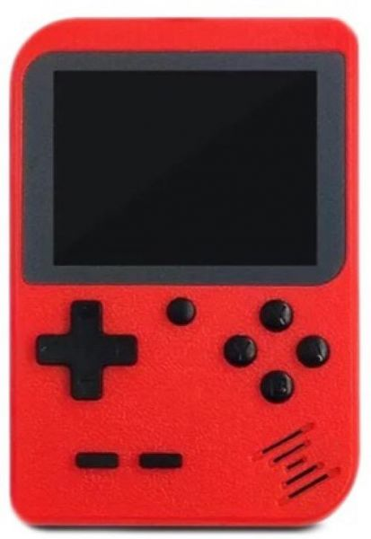 Handheld Game Console for Children,Retro Game Player with 8-Bit LCD Portable Video Games,The 80s Arcade Video Gaming System,Built-in 400 Classic Old School Games Entertainment-Red