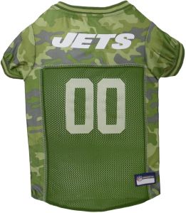 15026ed063b Pets First NFL NEW YORK JETS CAMOUFLAGE DOG JERSEY, X-Large. - CAMO PET  Jersey available in 5 sizes & 32 NFL TEAMS. Hunting Dog Shirt