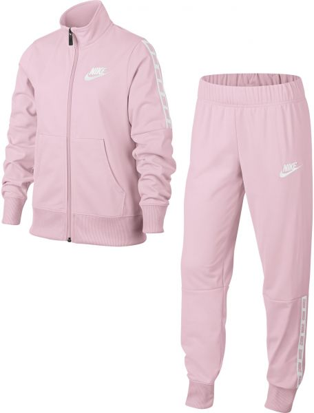8470499b9c55 Nike NSW Tracksuit for Girls - Pink
