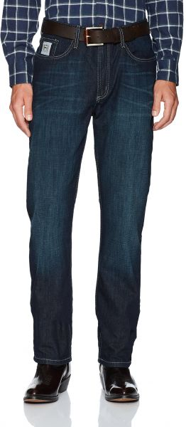 f8f7b727 Cinch Men's Silver Label Slim Fit Jean, Performance Dark Rinse, 35W ...