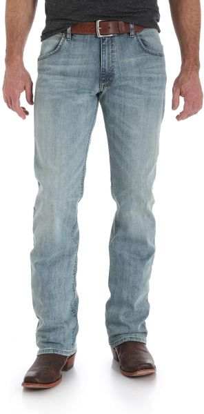 3b757100 Wrangler Men's Retro Slim Fit Bootcut Jean, Bearcreek, 33x36. by Wrangler,  Pants - Be the first to rate this product