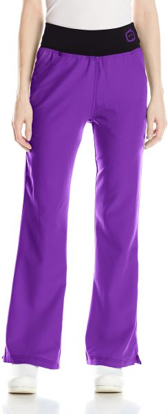 d60ee6dc797 WonderWink Women's Four Stretch Knit Waist Scrub Pant, Electric Violet,  Small/Petite. by WonderWink, Uniform - Be the first to rate this product