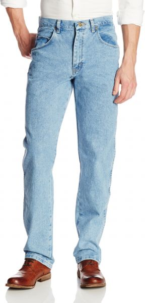 42006a80d771 Wrangler Men s Tall Rugged Wear Relaxed Fit Jean