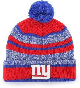 442317fff50 OTS NFL New York Giants Huset Cuff Knit Cap with Pom