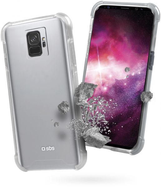 SBS Cover Clear Fit per Samsung Galaxy S9