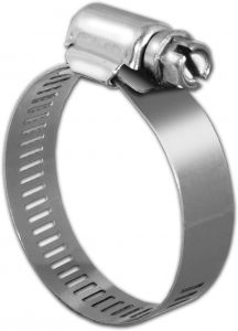 Pro Tie 33509 SAE Size 056 Range 3-1//16-Inch-4-Inch Heavy Duty All Stainless Hose Clamp 4-Pack
