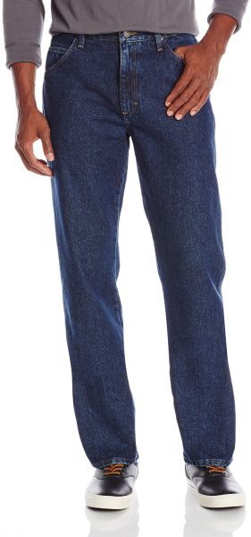 a8d32240 Wrangler Authentics Men's Big and Tall Classic Regular Fit Jean, Dark  Rinse, 42x36. by Wrangler, Pants - Be the first to rate this product