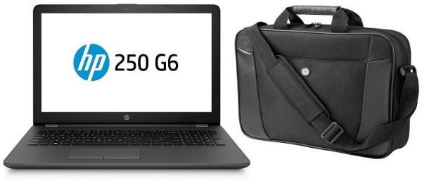 HP Laptop 250 G6 With 15 6-Inch Display, Celeron Processor 4GB RAM 500GB  HDD Intel Graphics Black With Free Bag