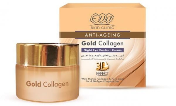 Eva Skin Clinic Gold Collagen Night Eye Contour Cream 15ml