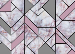 Wallpaper Of Marble Wallpaper With Pink And Silver Color Buy