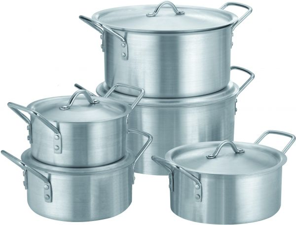 FALPRO ALUMINUM COOKING POT 10 Pcs