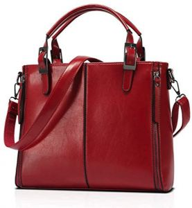 702c00f32 Woman Lady New fall and winter single shoulder bag Inclined shoulder bag  Handbag wine Red