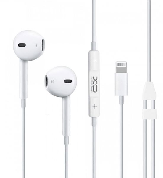 XO S18 High Fidelity Sound Bluetooth Earphones For IPhone - 8 PIN - White