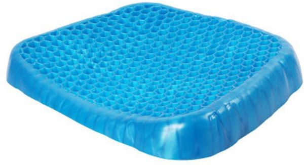 Gel Seat Cushion Soft Chair Seat Cushion Comfortable Orthopedic Seating Cushions Sitting Pillow for Cars, Outdoors, Stadium, Truck, Van, Office, Wheelchairs
