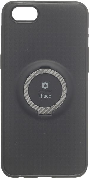 iFace Back Cover with Finger Holder for Oppo A83, Multi Color