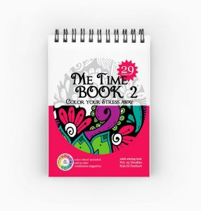 Adult Color Book - 14 X 10 Cm - 130 gm Paper - Me Time Book ...