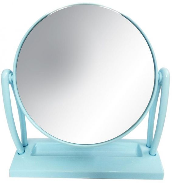 Mirror With A Rectangular Base For Personal Use - With Frame