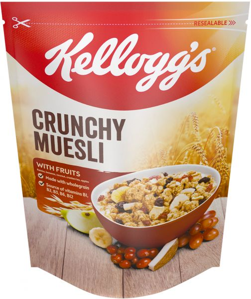 Kellogg's Crunchy Muesli With Fruits - 380 gm