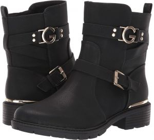 G by Guess Boot For Women,Black - Side