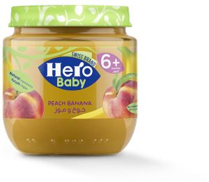 Hero Baby Peach Banana Baby Food Puree 6 Months 1 Year Buy Online Baby Food At Best Prices In Egypt Souq Com