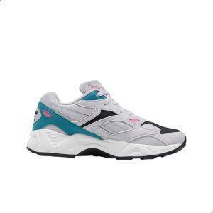 Están familiarizados tinción ideología  Reebok Aztrek 96 Color-Block Embroidered Logo Lace-Up Running Sneakers for  Women - Sterling Grey, 41 : Buy Online Athletic Shoes at Best Prices in  Egypt | Souq.com