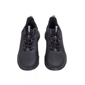 Anta Faux Leather Mesh Accent