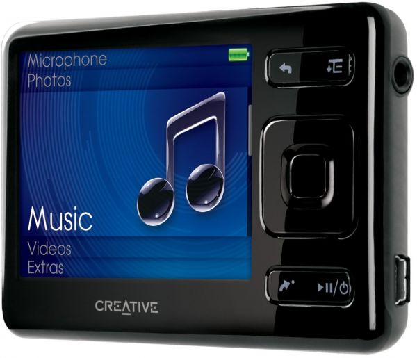 souq creative zen mp3 player 16gb black uae. Black Bedroom Furniture Sets. Home Design Ideas