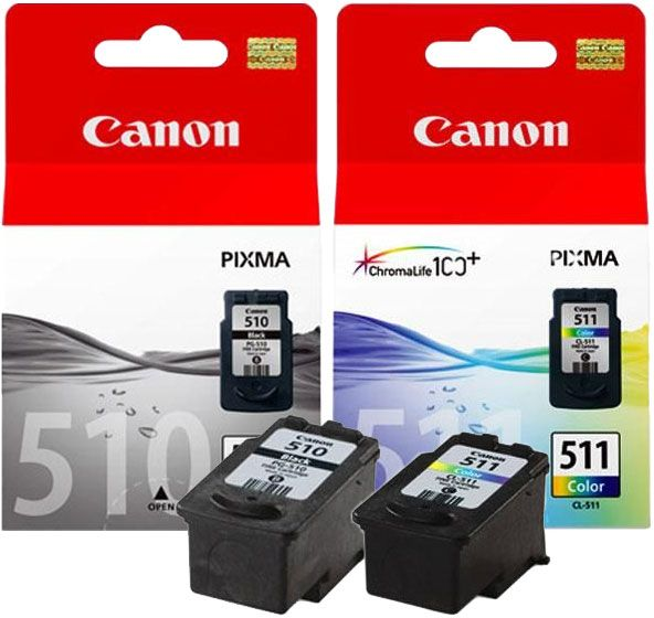 souq canon 510 black 511 color cartridges uae. Black Bedroom Furniture Sets. Home Design Ideas