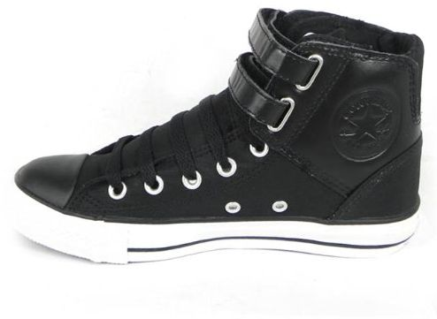 7dec9c9c69825d Converse All Star 2 Chuck Taylor Strap Leather Trainers 3.5 UK ...
