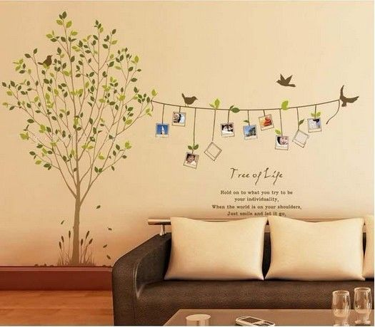 miihome removable wall decor sticker - tree of life | souq - uae