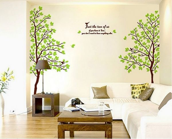 Great Miihome Removable Wall Decor Sticker   Lover Tree