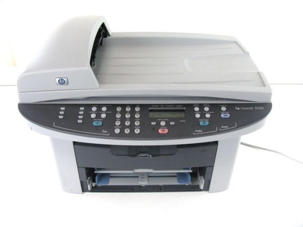 HP LaserJet 3030 alles-in-één printer Downloads van ...