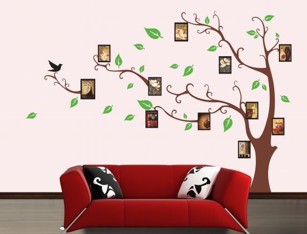 Miihome Removable Wall Sticker Photo Tree Price Review And Buy - Wall decals dubai