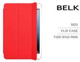 purchase cheap 91706 a5a44 Belk Red Protective Flip Case for the new iPad Mini | KSA | Souq