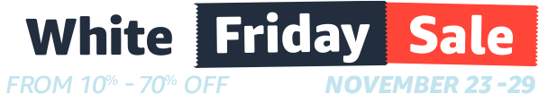 White Friday Sale Logo